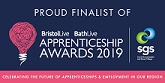 SWAC BLOG: Bristol & Bath Apprenticeship Awards 2019 – Finalist